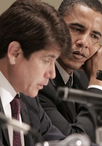 Blagojevich and Obama