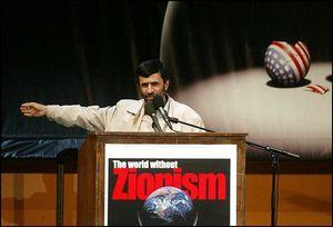 Ahmadinejad World Without Zionism