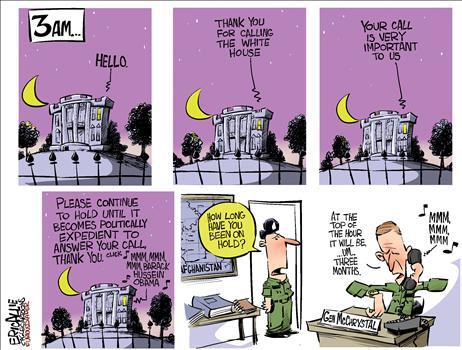 McChrystal on Hold