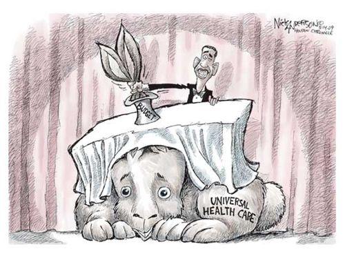 Obama's Rabbit Trick