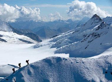 Alps snow ice