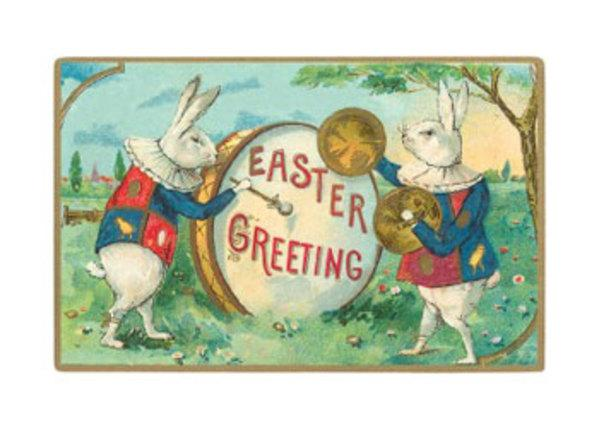 Easter Greetings Bunny Drum